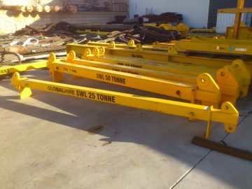 25t & 50t Expandable Spreader Bars
