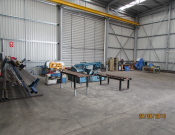 Workshop Fabrication Area